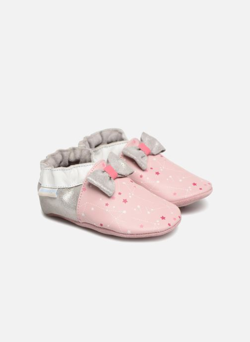 Slippers Robeez Ballet Pink detailed view/ Pair view