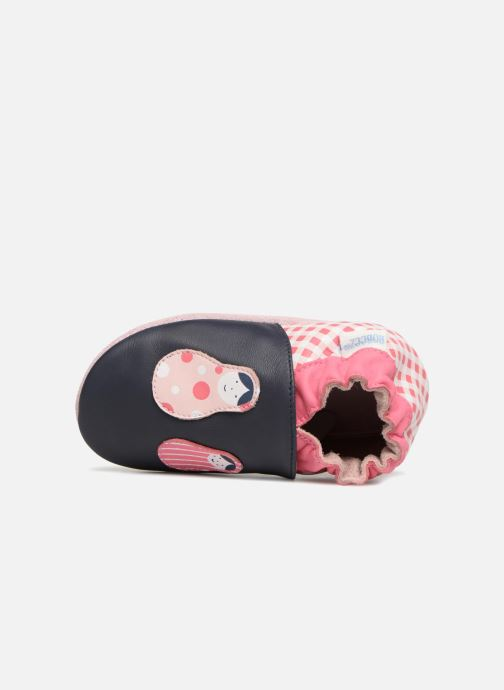 Slippers Robeez Matrioshka Blue view from the left