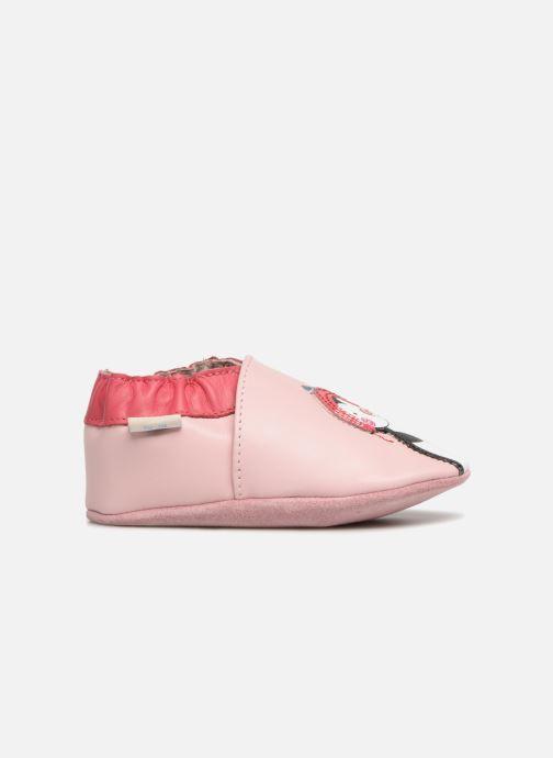 Slippers Robeez Pingu Stories Pink back view