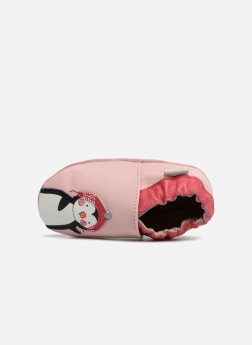 Slippers Robeez Pingu Stories Pink view from the left