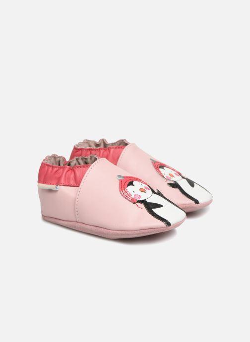 Slippers Robeez Pingu Stories Pink detailed view/ Pair view