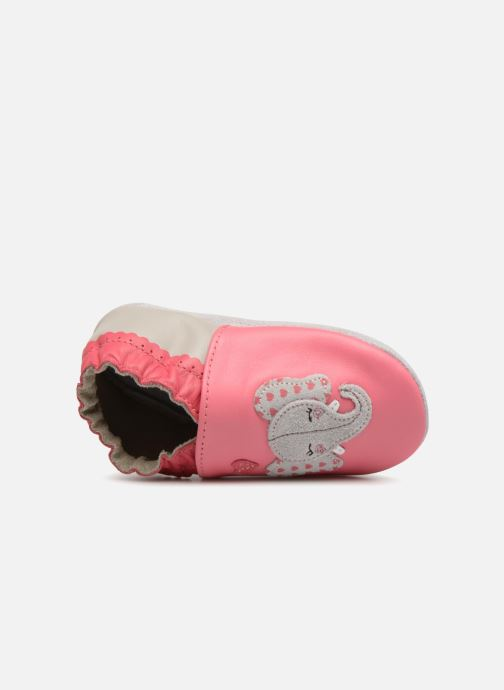 Slippers Robeez Girly Elefant Pink view from the left