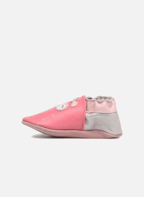 Pantofole Robeez So Cute Rosa immagine frontale