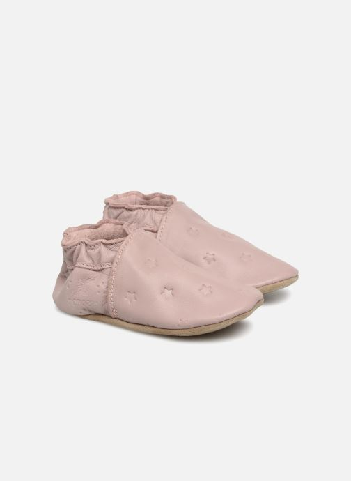 Slippers Robeez Dressy Pink detailed view/ Pair view