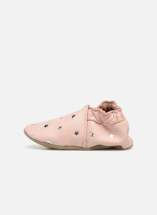 Pantoffels Robeez Dressy Roze voorkant