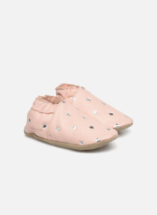 Pantoffels Robeez Dressy Roze detail