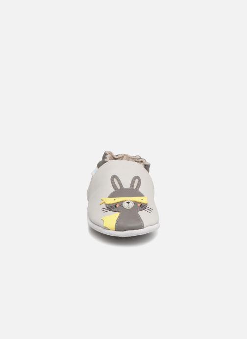 Slippers Robeez Super Rabbit Grey model view