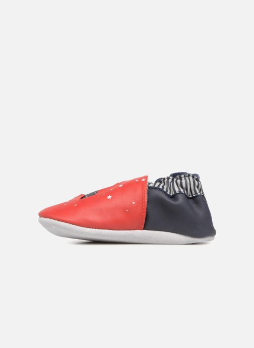 Chaussons Robeez Planet Travel Rouge vue face