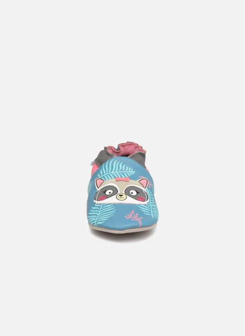Slippers Robeez Racoon Sister Multicolor model view