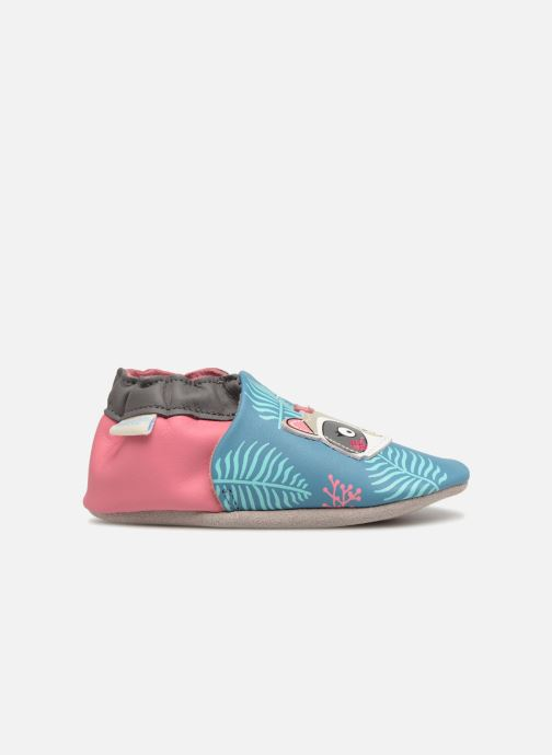 Slippers Robeez Racoon Sister Multicolor back view