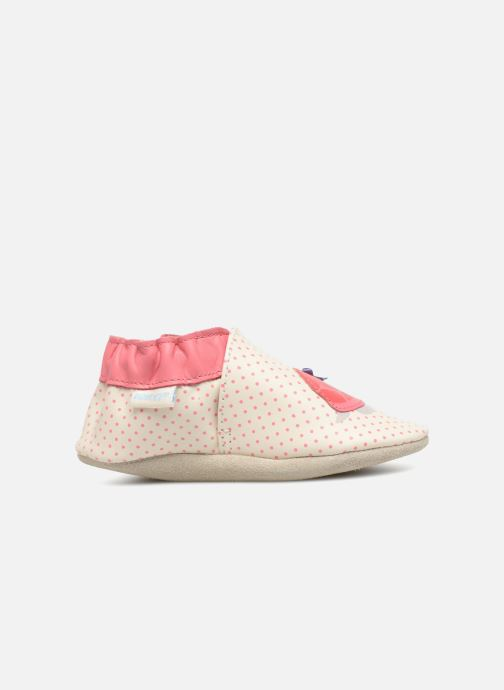 Slippers Robeez Turtle White back view