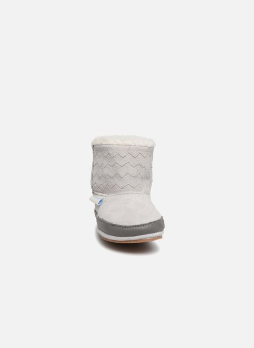 Slippers Robeez Boots Grey model view