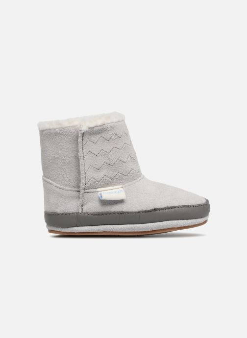 Pantoffels Robeez Boots Grijs achterkant