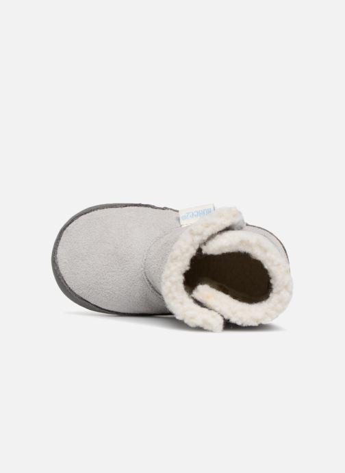 Pantoffels Robeez Boots Grijs links