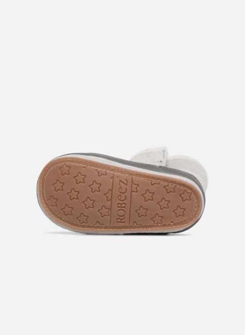 Pantoffels Robeez Boots Grijs boven