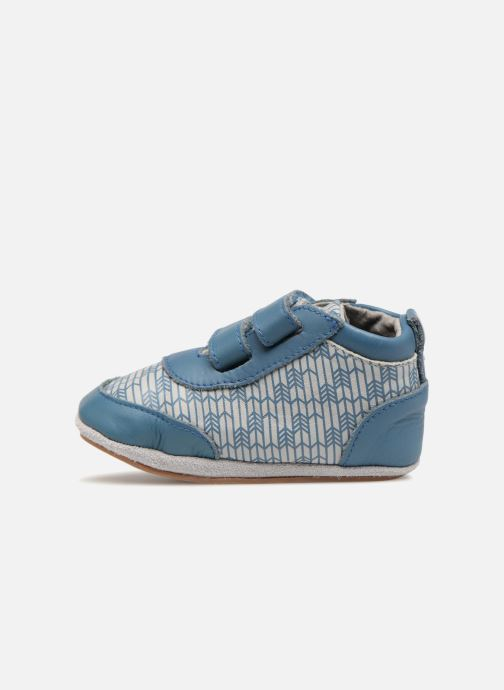 Pantofole Robeez Beary Azzurro immagine frontale