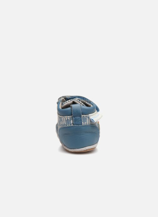Chaussons Robeez Beary Bleu vue droite