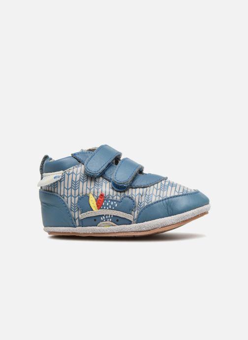 Pantofole Robeez Beary Azzurro immagine posteriore