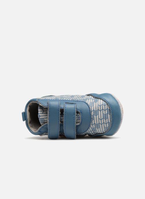 Pantofole Robeez Beary Azzurro immagine sinistra