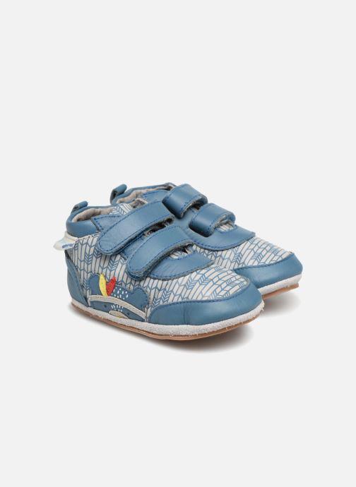 Hjemmesko Robeez Beary Blå detaljeret billede af skoene