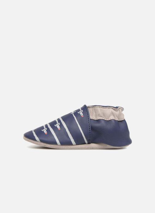 Pantofole Robeez Fuz Azzurro immagine frontale