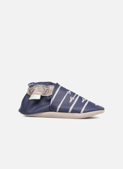 Pantofole Robeez Fuz Azzurro immagine posteriore