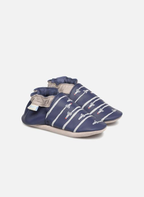 Pantofole Robeez Fuz Azzurro vedi dettaglio/paio