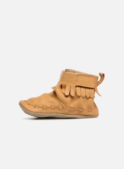 Chaussons Robeez Funky Shoe Jaune vue face
