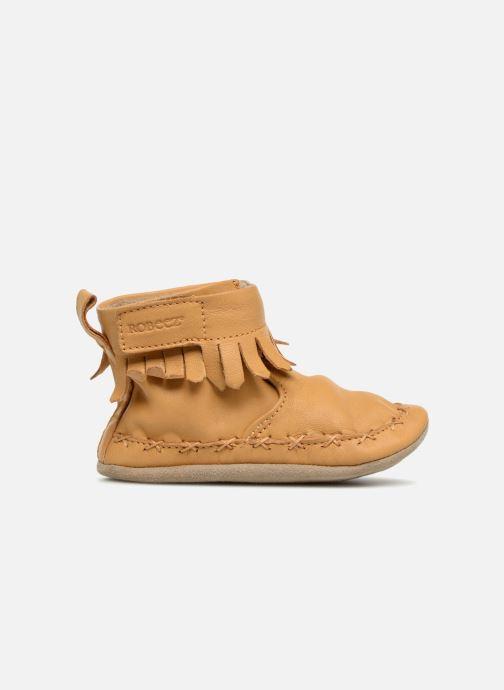 Chaussons Robeez Funky Shoe Jaune vue derrière