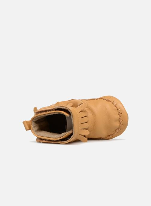 Chaussons Robeez Funky Shoe Jaune vue gauche