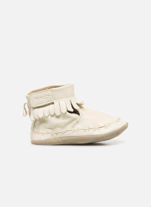 Chaussons Robeez Funky Shoe Blanc vue derrière