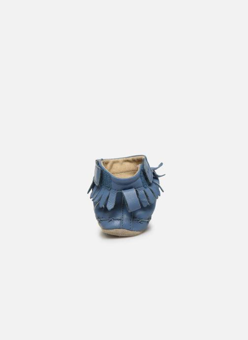 Pantoffels Robeez Funky Shoe Blauw rechts