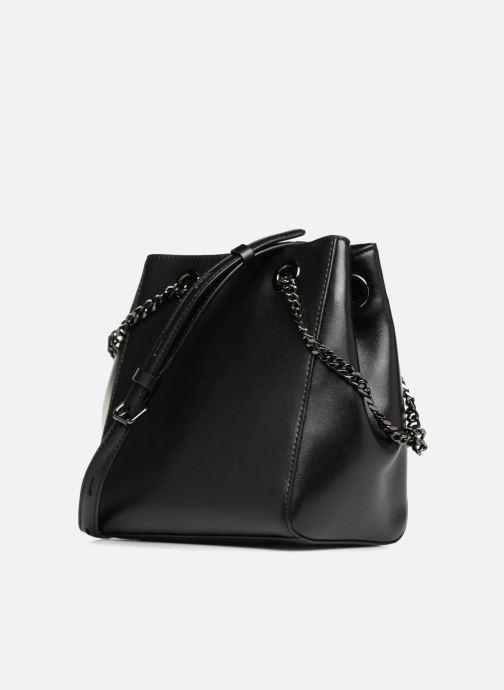 Handtassen KARL LAGERFELD K Signature Bucket Bag Zwart rechts