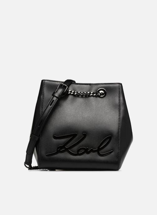 Handtassen KARL LAGERFELD K Signature Bucket Bag Zwart detail