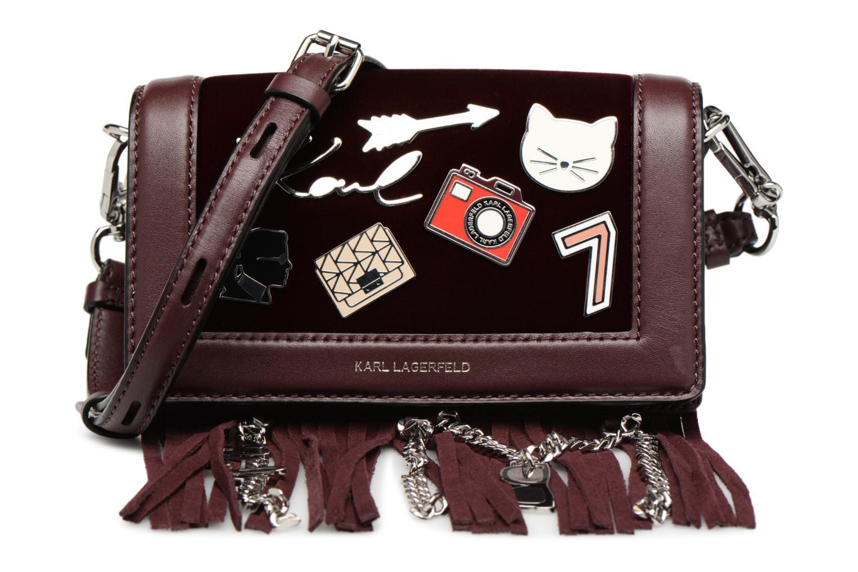 Sacs à main KARL LAGERFELD K Klassic Pins Crossbody Bordeaux vue détail/paire
