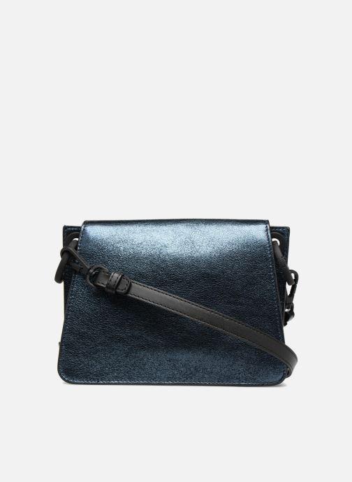 Handtaschen KARL LAGERFELD K Kat Lock Metal silber ansicht von vorne