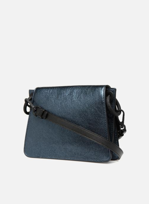 Handtaschen KARL LAGERFELD K Kat Lock Metal silber ansicht von rechts