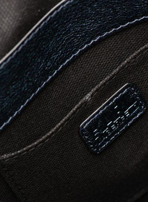 Handtaschen KARL LAGERFELD K Kat Lock Metal silber ansicht von hinten
