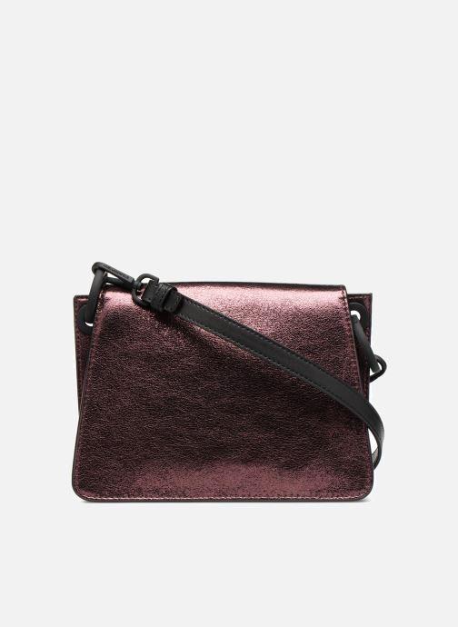 Handtaschen KARL LAGERFELD K Kat Lock Metal rosa ansicht von vorne