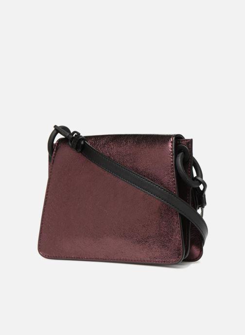 Handtaschen KARL LAGERFELD K Kat Lock Metal rosa ansicht von rechts