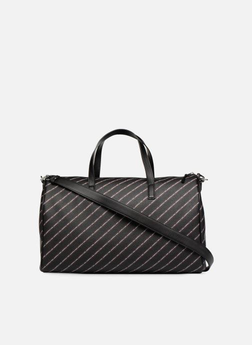 Sacs de sport Karl Lagerfeld K Stripe Logo Weekender Noir vue face