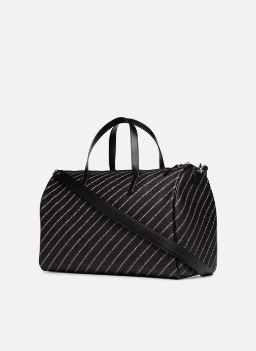 Sacs de sport Karl Lagerfeld K Stripe Logo Weekender Noir vue droite