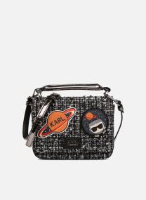 K Space Tweed Shoulder Bag