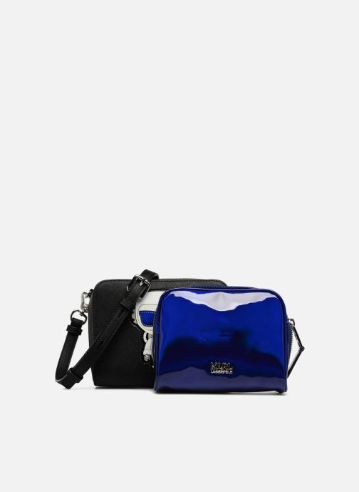 654c170801ca Handbags KARL LAGERFELD K Space Two in one Crossbody Black view from the  left. 1