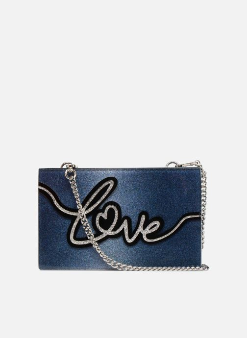 Bolsos de mano KARL LAGERFELD K Love Minaudière Azul vista de frente
