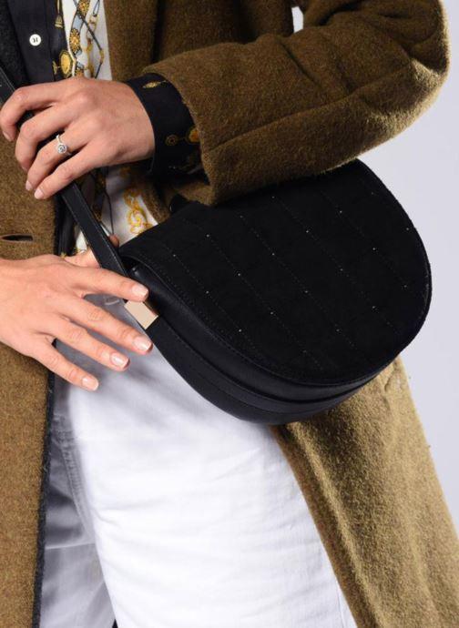 Sacs à main Pepe jeans PERSIS BAG Noir vue bas / vue portée sac