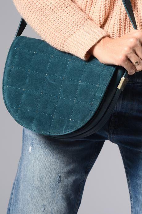 Sacs à main Pepe jeans PERSIS BAG Bleu vue haut