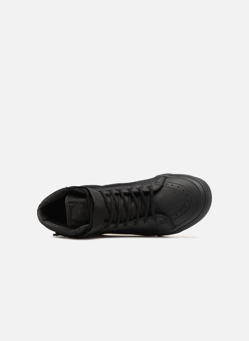 Sneaker Vans Sk8-Hi Reissue Strap grau ansicht von links