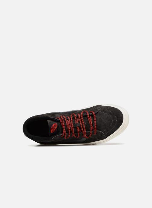 Sneaker Vans SK8-Mid Reissue Ghillie MTE grau ansicht von links