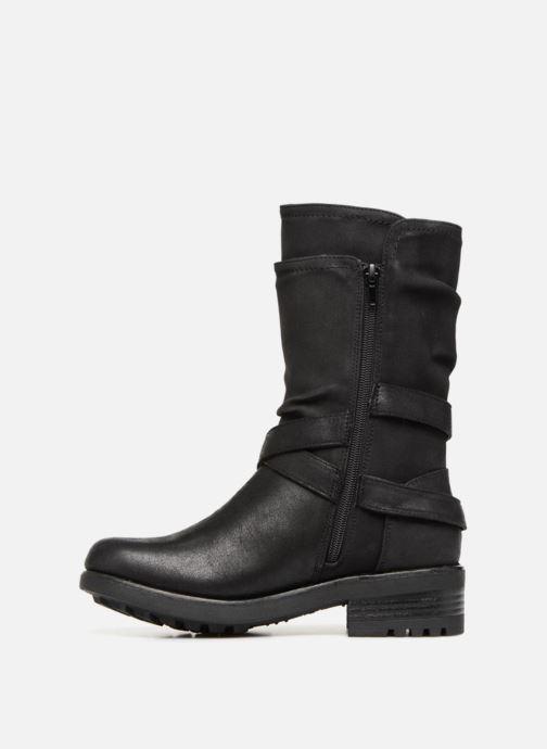 Boots en enkellaarsjes Bullboxer 427544F6T Zwart voorkant